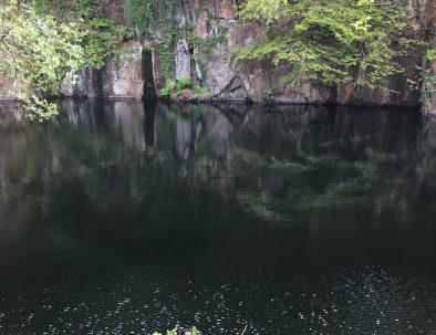 The Black Lake at Kennall Woods